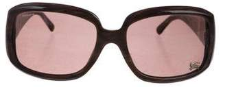 Burberry Marbled Square Sunglasses