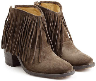 Fiorentini+Baker Ramones Fringed Suede Ankle Boots