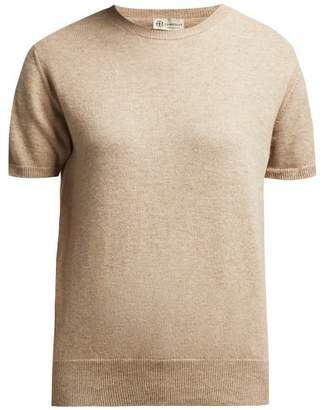 fba8eec93d8d BEIGE Connolly - Short Sleeved Cashmere Sweater - Womens