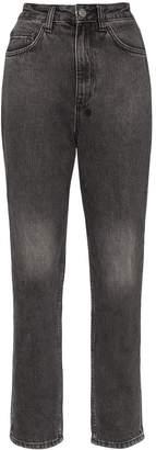 Ksubi high-waisted cropped jeans