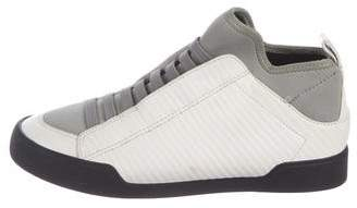 3.1 Phillip Lim Leather & Woven Sneakers