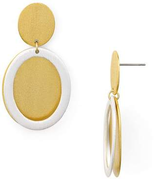 Stephanie Kantis Icon Double Disc Drop Earrings