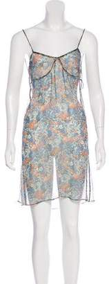 Stella McCartney Sheer Floral Dress
