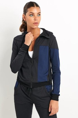 ALALA Black Navy Mesa Bomber - S - Black/Blue