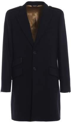 Dolce & Gabbana Dolce Gabbana Single Breasted Coat