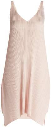 Pleats Please Issey Miyake Pleated tie-back dress