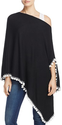 Minnie Rose Embellished Ruana $181 thestylecure.com