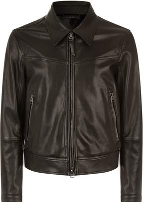 Tom Ford Simple Leather Biker Jacket