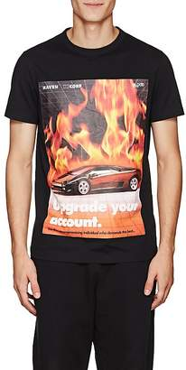 Blood Brother MEN'S FLAMES COTTON T-SHIRT