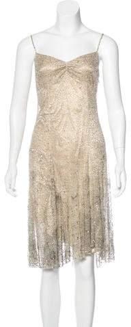 Ralph Lauren Embellished Sleeveless Dress