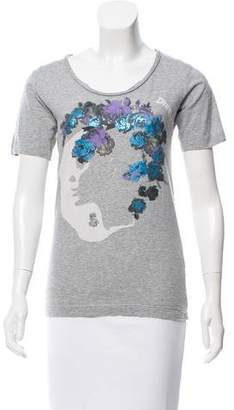 Diesel Printed Short Sleeve T-Shirt