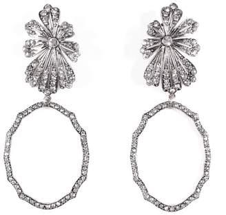 Lulu Frost Camellia Statement Earrings