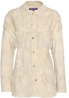 Ralph Lauren Garrison fringed suede jacket