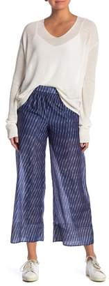 Theory Smocked Culotte Pants