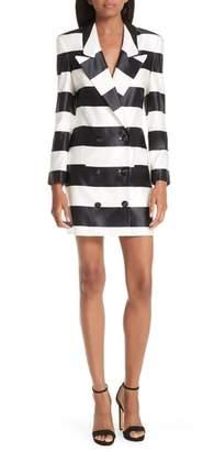 Caroline Constas Catrina Cotton & Silk Blazer Dress
