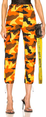 Off-White Off White Cargo Pant in Camouflage | FWRD