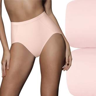 Bali 2-pk. Ultra-Control Seamless Tummy Panel Briefs X245 - Women's