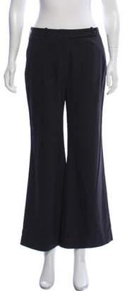 Celine Céline Virgin Wool Mid-Rise Pants Grey Céline Virgin Wool Mid-Rise Pants