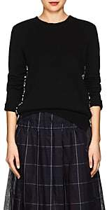 Marc Jacobs Women's Embellished Wool-Cashmere Sweater-Black
