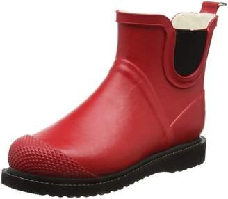 Ilse Jacobsen Womens Rub 47F Deep Red Rubber Boots 38 EU