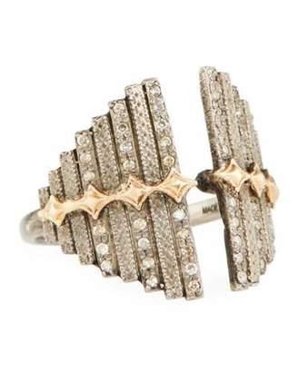 Armenta New World Diamond Crivelli Bar Ring