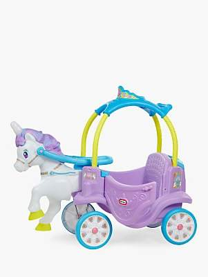 Little Tikes Magical Unicorn Carriage Ride-On Toy