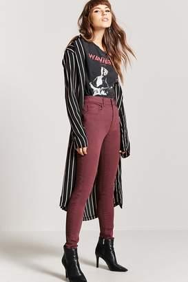 Forever 21 High-Waist Skinny Jeans