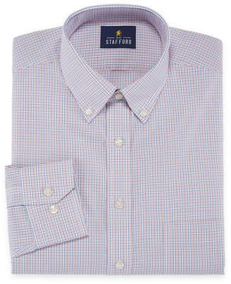 STAFFORD Stafford Executive Non-Iron Cotton Pinpoint Oxford Long Sleeve Dress Shirt - Big & Tall