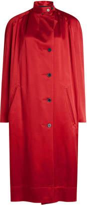 Haider Ackermann Satin Coat