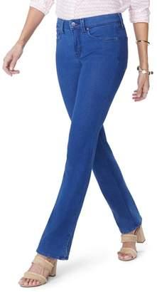 NYDJ Billie Side Slit Mini Bootcut Jeans