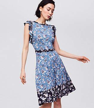 588d28f781 LOFT White Petite Dresses on Sale - ShopStyle