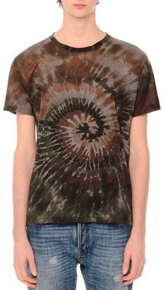 Valentino Tie-Dye Short-Sleeve T-Shirt, Tie Dye Army $695 thestylecure.com