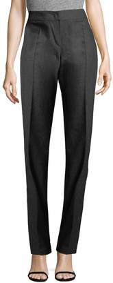 Armani Collezioni Women's Straight-Leg Wool Pants