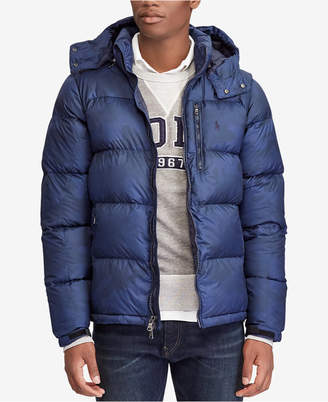 Polo Ralph Lauren Men Big & Tall Water-Repellent Down Jacket