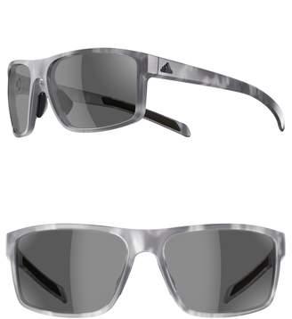 adidas Whipstart 61mm Rectangle Sport Sunglasses