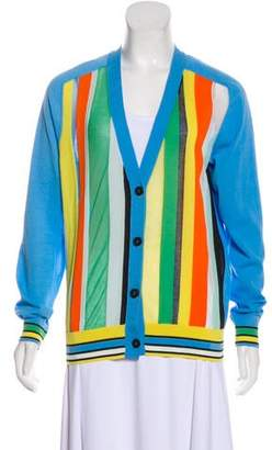 Diane von Furstenberg Knit Button-Up Cardigan