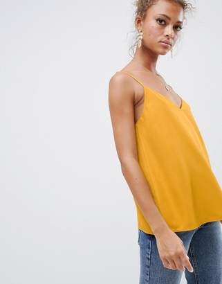 Asos DESIGN eco swing cami with double layer