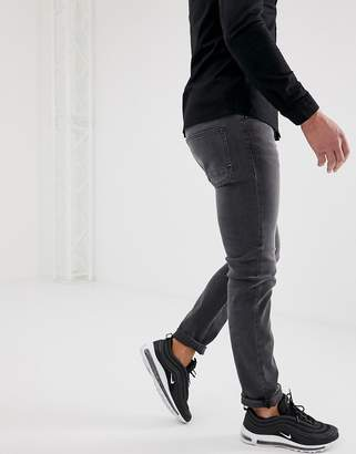 BOSS Delaware slim fit jeans in grey