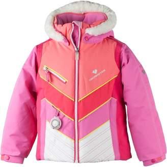 Obermeyer Sierra Faux Fur Jacket - Toddler Girls'