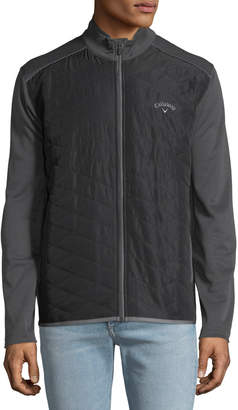 Callaway Men's Long-Sleeve Quilted Jacket