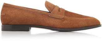 Bally Webb Suede Loafers