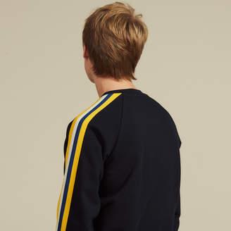 Sandro Cotton sweatshirt with braid trims
