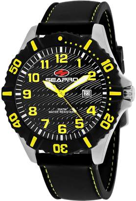 Seapro Men's Casual Trooper Dial Classic Analog Watch (Model:SP1512)