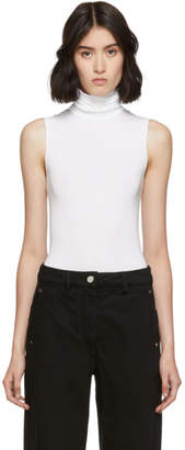 Wolford White Viscose String Bodysuit