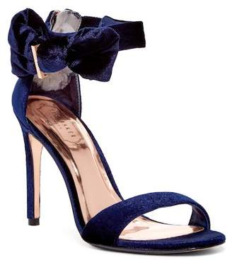 Ted Baker Torabel Velvet Bow Stiletto Sandal