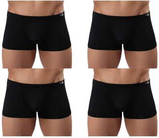 Trunks YKC Men Briefs Ice Silk Underwear Seamless Boxer Briefs Short Leg M=CA XS