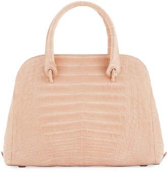Nancy Gonzalez Crocodile Medium Open Dome Tote Bag