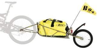 BOB Strollers Ibex 28 Plus Suspension Trailer includes Dry Sak