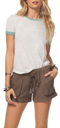 Women's Rip Curl Tumbleweed Cotton Shorts $39.50 thestylecure.com