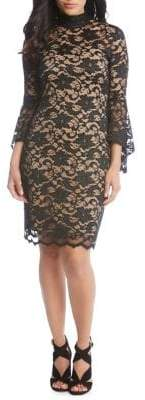 Karen Kane Laila Lace Sheath Dress
